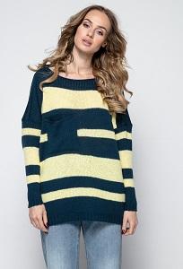 Свободный свитер Fimfi I240