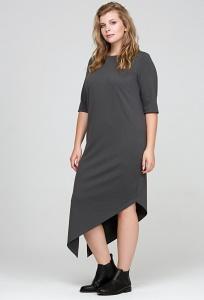 Платье с асимметричным низом Donna Saggia DSPB-21-74t