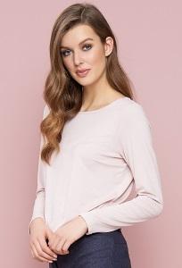 Простая блузка грязного-розового цвета Zaps Zola