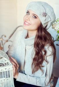 Комплект (шапка+шарф) Landre Серафима