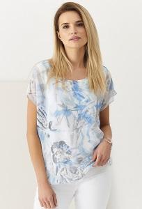 Тонкая лёгкая летняя блузка Sunwear Q13-2-15