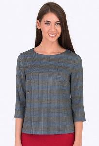 Блузка свободного кроя Emka Fashion b 2204/loes