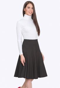 Расклешенная юбка с клиньями Emka S741/lenora