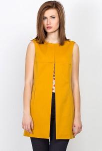 Кардиган горчичного цвета Emka Fashion GL-012/femiola