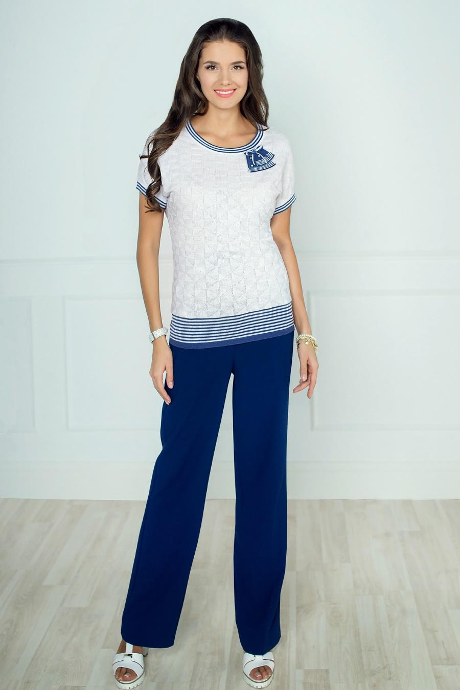 Синяя блузка доставка