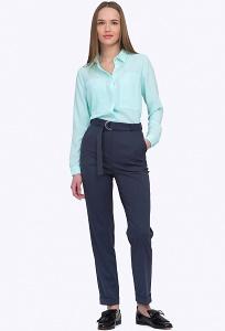 Женские элегантные офисные брюки чиносы Emka D084/fios