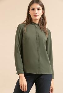 Женская блузка цвета хаки Emka B2282/mona
