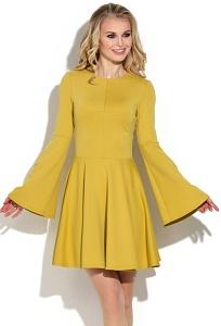 Расклешенное платье с широким рукавом Donna Saggia DSP-259-54t