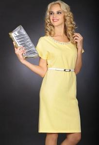 Жёлтое платье Issi Bravissimo 153511