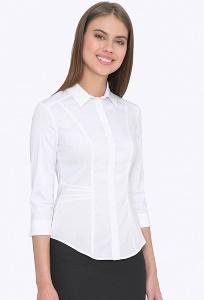 Женская белая рубашка Emka B2208/amina