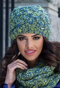 Женская вязаная шапка Kamea Marta
