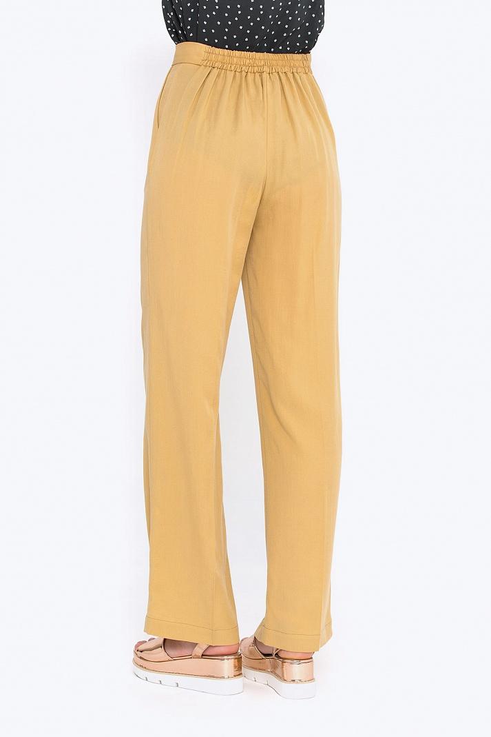 Горчичные брюки с доставкой