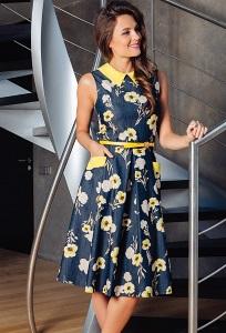 Летнее платье TopDesign Premium PA7 18