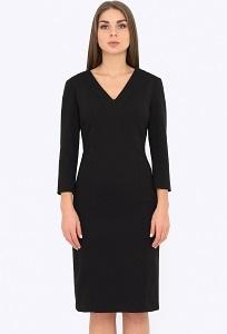 Чёрное платье Emka Fashion PL-575/mateya