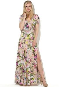 Длинное платье с разрезом Donna Saggia DSP-33-38t