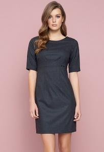 Платье графитового цвета Zaps Tacjana