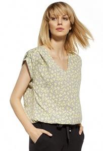 Летняя лёгкая блузка в цветочек Enny 230085