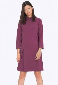 Женское платье с воротником Emka PL727/ulva