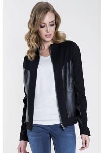 Женская чёрная куртка Zaps Desulo
