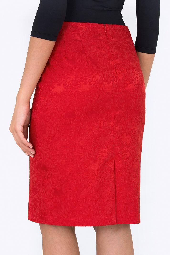 Жаккардовая юбка доставка