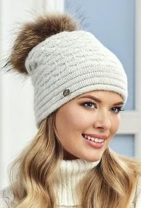 Светло-серая шапка Landre Грация