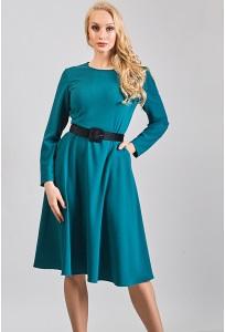 Трикотажное платье TopDesign B8 005