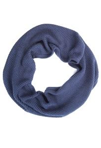 Тёмно-синий шарф-снуд Conso Wear SN1608001