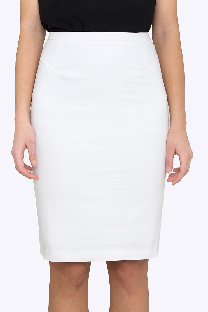 Белая юбка карандаш доставка
