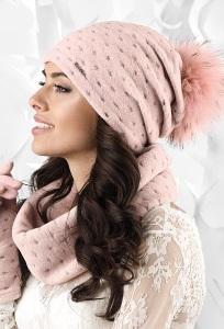 Комплект шапка + снуд Kamea Fiuggi