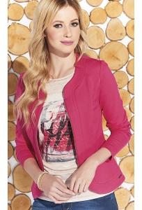 Розовый женский блейзер на молнии Zaps Fiona