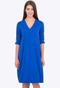 Платье баллон синего цвета Emka PL-578/arabella
