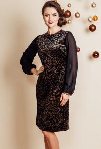 Изысканное вечернее платье TopDesign NB6 07
