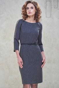 Серое платье Bravissimo 162530