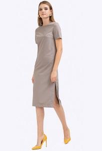 Летнее платье с разрезами по бокам Emka PL514/dragonfly