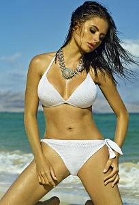 Белый женский купальник Primo 19