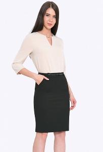 Чёрная юбка Emka 682/lenora