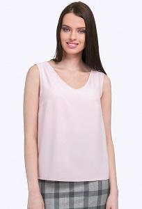 Женский топ бледно-розового цвета Emka B2347/lily