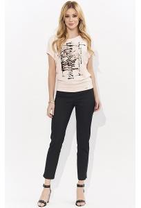 Классические чёрные брюки чёрного цвета Zaps Gabi