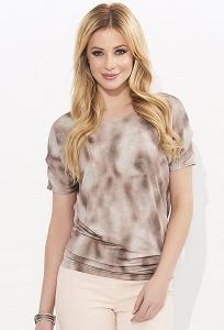 Женская блузка в коричневых тонах Zaps Tamani