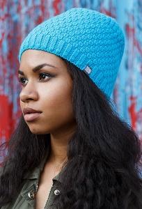Бирюзовая шапка Brand 69 Dora