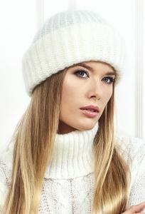 Белая женская шапочка Landre Адель