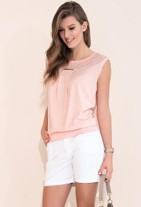 Женские летние белые шорты из хлопка Zaps Zora
