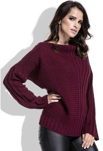 Женский свитер синего цвета Fimfi I212