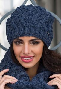 Тёплая женская шапка Kamea Alba