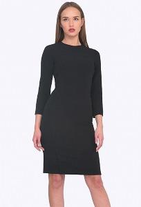 Чёрное платье Emka PL751/night