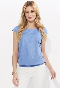 Голубая блузка на лето Zaps Musa