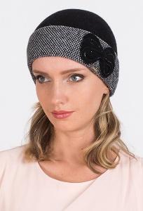 Женская шапка с бантиком Kamea Scarlet