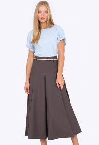 Длинная расклешённая юбка Emka 288/kema