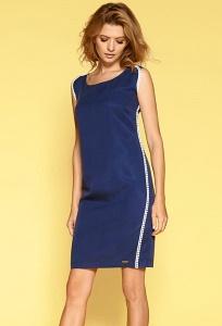Полуприталенное платье без рукавов Zaps Inger
