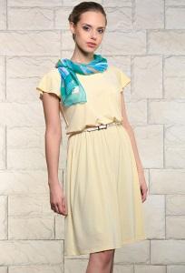 Летнее платье синего цвета Issi 171540